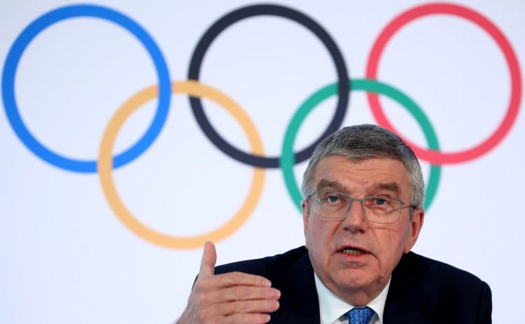 Thomas Bach, président du Comité international olympique (REUTERS / Denis Balibouse / File Photo)